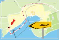 Apartmani �pital, Novalja, otok Pag, Hrvatska